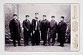 Konrad, Hilding, Einar, Valter och Haralad Meinander samt Hjalmar Relander (slsa1165 852, SLS).jpg