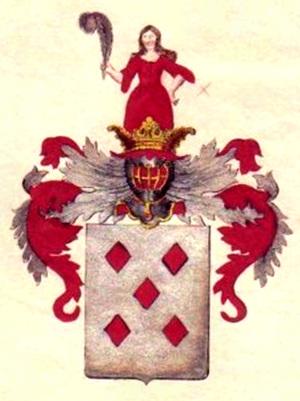 Curt Christoph von Koppelow - Coat of arms of the House of Koppelow
