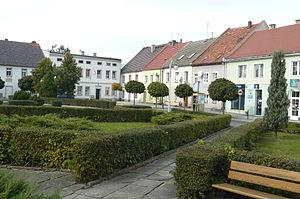 Korfantów - Market Square