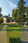 Kostel Nanebevzetí Panny Marie z areálu lázní, Slatinice, okres Olomouc.jpg