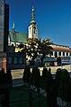 Kostel Povýšení svatého Kříže a stará radnice, Prostějov.jpg
