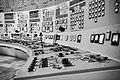 Kozloduy Nuclear Power Plant - Control Room of Units 1 and 2 in black and white.jpg