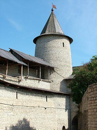 History of Lithuania (1219–95) - Image: Kremlin in Pskov 5