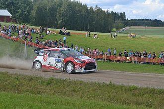 Rally Finland - Image: Kris Meeke Rally Finland 2016 Äänekoski–Valtra