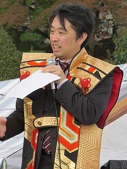 平成28年11月、姫路市で行われた人間将棋にて