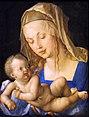 Kunsthistorisches Museum Wien, Dürer, Maria mit Kind.JPG