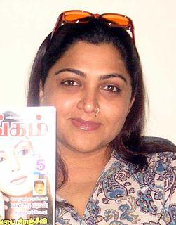 Khushbu Sundar Indian actress