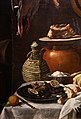 L'empoli, dispensa con botte, selvaggina, carni e vasellame, 1624, 04 fiasca.jpg