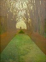 Léon Spilliaert 1917c Le parc royal à Bruxelles.jpg