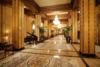 The Roosevelt New Orleans - The lobby of the Roosevelt New Orleans · A Waldorf Astoria Hotel