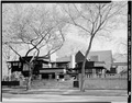LOOKING SOUTH - Frank Lloyd Wright Home and Studio, 428 Forest Avenue and 951 Chicago Avenue, Oak Park, Cook County, IL HABS ILL,16-OAKPA,5-1.tif