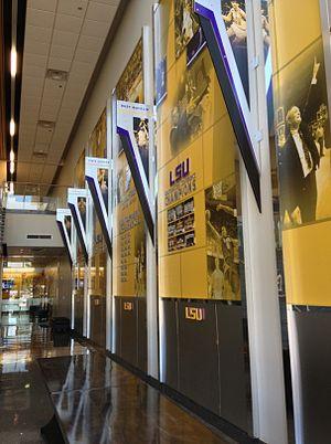 LSU Basketball Practice Facility - Image: LSU Basketball Practice Facility Lobby