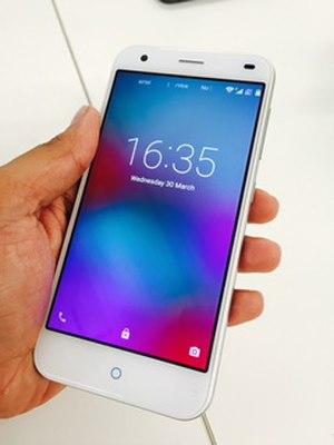 Jio - Image: LYF WATER 2 Smartphone