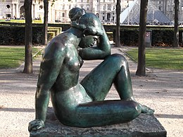 La Méditerranée by Aristide Maillol, Paris November 2011 002.jpg