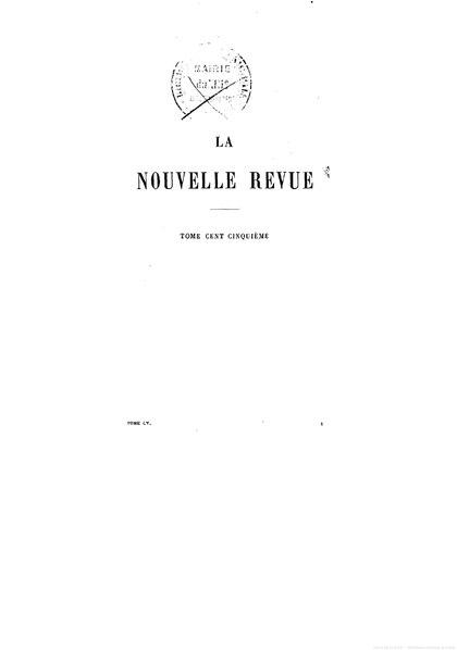 File:La Nouvelle Revue - 1897 - tome 105.pdf