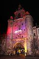 La Tour de la Grosse Horloge illuminée, Noël 2009 (15).JPG