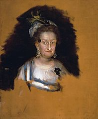 Portrait of Maria Josefa of Spain
