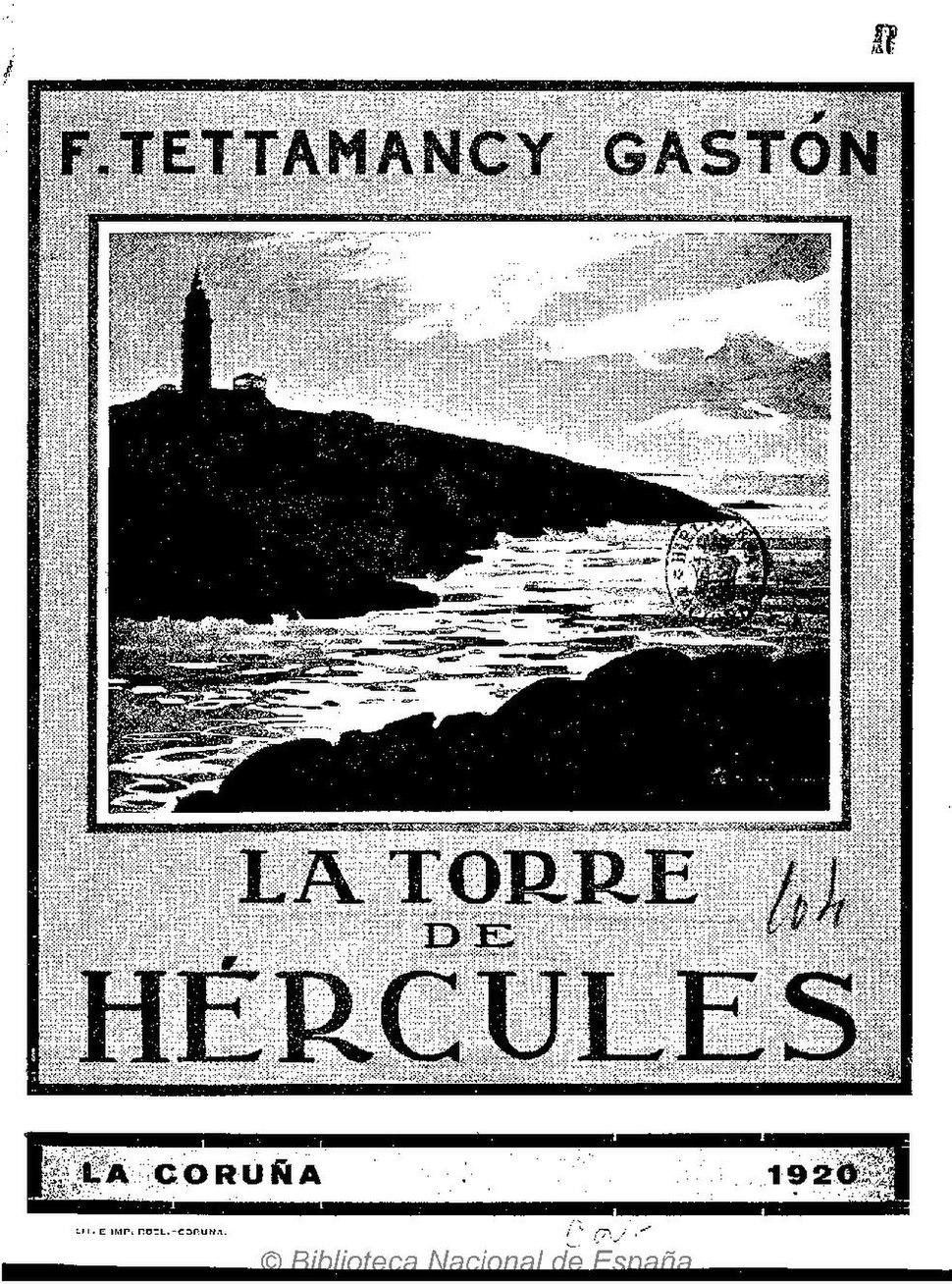 1920. La torre de Hércules