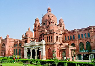 Lahore Museum - Entrance to the museum