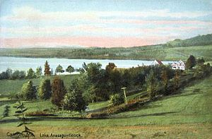 Canton, Maine - Lake Anasagunticook in 1911