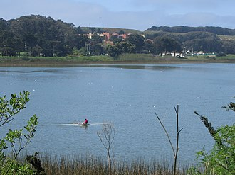 Lake Merced - Image: Lake Merced at SFSU