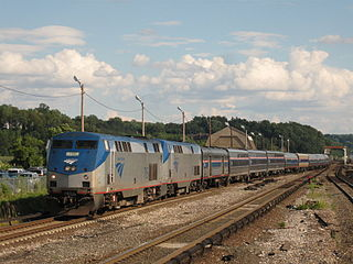 <i>Lake Shore Limited</i> Amtrak train route