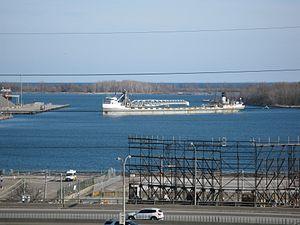 Lake freighter Mississagi in the Eastern Gap -c.jpg