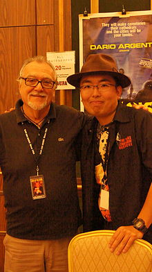 Description de l'image Lamberto Bava and Ryota Nakanishi.JPG.
