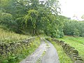 Lane to Higher House, Mytholmroyd - geograph.org.uk - 1444148.jpg