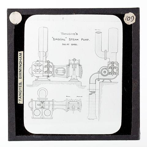 file lantern slide   tangyes ltd special steam pump