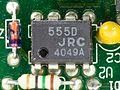 Laptop Acrobat Model NBD 486C, Type DXh2 - JRC 555D on Power Supply Unit-4677.jpg