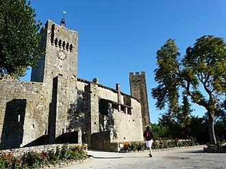 Gers - Image: Larressingle Enceinte fortifiée et tour ouest