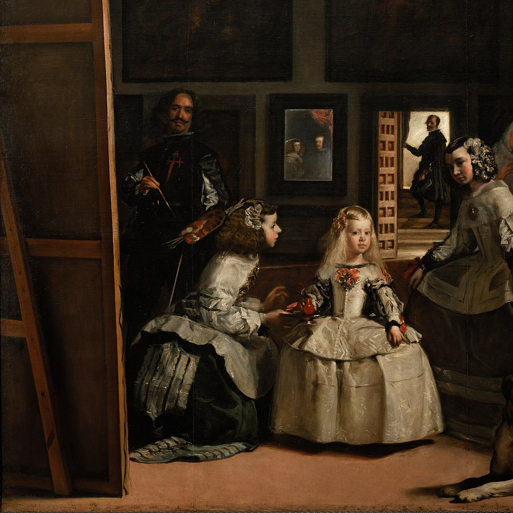 Las Meninas, by Diego Velázquez, from Prado in Google Earth-x0-y1