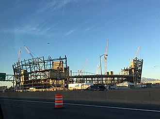 Oakland Raiders relocation to Las Vegas - Las Vegas Stadium in December 2018