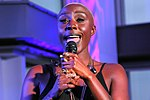 Laura Mvula performing at the -SheWill event for Global Citizen at The View From The Shard, London, 7 July 2016 - 28244707375.jpg
