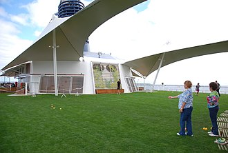 Celebrity Equinox - Lawn Club on the top deck
