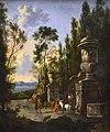 Le Départ pour la chasse - Frederik de Moucheron - Musée du Louvre.jpg