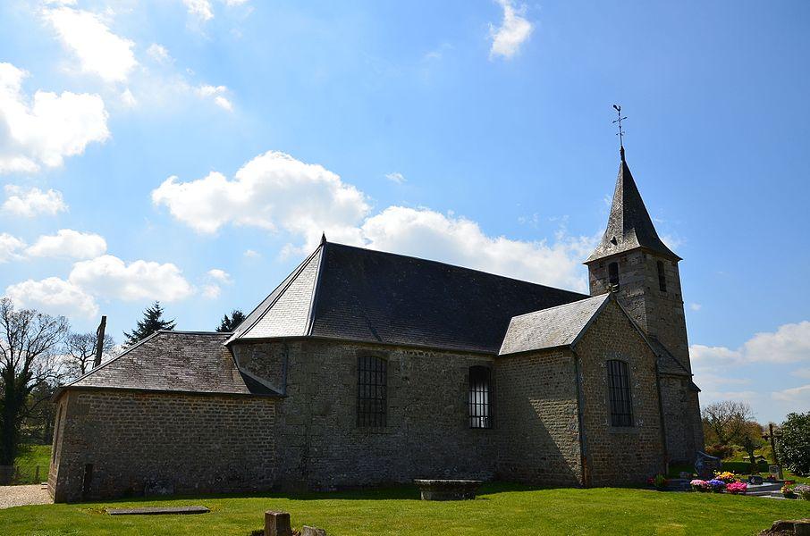 Église Notre-Dame de Le Mesnil-Benoist.