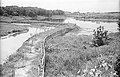 Leather Industrial Sewage Sludge and Fresh Waterbody Being Made - Science City Site - Calcutta 1993-07-26 224.JPG