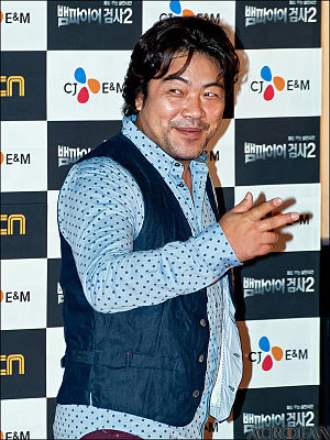 Lee Won-jong - Lee Won-jong at the press conference for Vampire Prosecutor 2