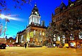 Leeds town hall by night - geograph.org.uk - 729476.jpg