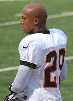 Leon Hall, Bengals training camp 2012.jpg