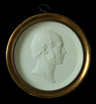 Leonard Charles Wyon - Leonard Charles Wyon (self-portrait in plaster)
