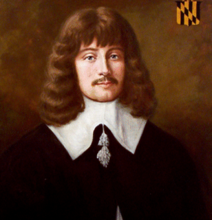 First governor of Maryland colony