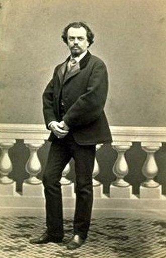 Un ballo in maschera - Baritone Leone Giraldoni, the first Renato (c. 1865)