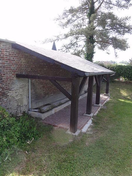 Les Autels (Aisne) lavoir