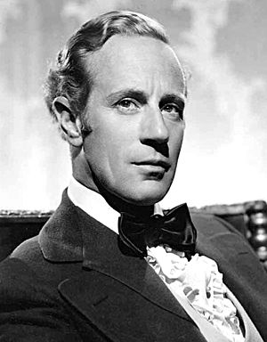 Leslie Howard (actor) - Howard as Ashley Wilkes in Gone with the Wind (1939)