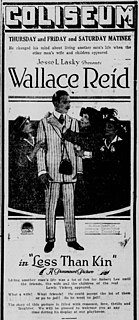 <i>Less Than Kin</i> 1918 lost American comedy silent film directed by Donald Crisp