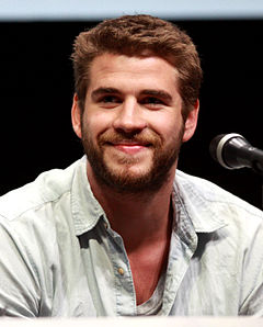 Liam Hemsworth på San Diego Comic-Con International 2013.
