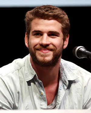Hemsworth at the San Diego ComicCon, 2013 Liam Hemsworth by Gage Skidmore.jpg